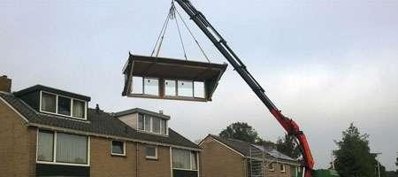prefab dakkapel plaatsen Amsterdam