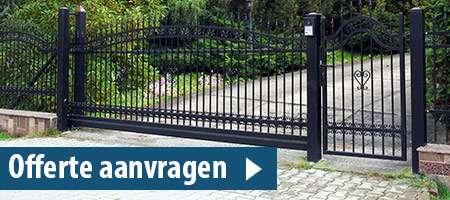 poort plaatsen Noord-Holland